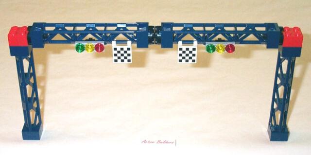 Lego Traffic Light Signal Racing Checkpoint 8672 8495 Street Sign Support Girder