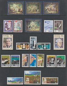 Malta - 1979/87, 41 x Issues - MNH