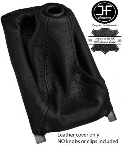 BLACK /& BLACK MANUAL LEATHER GEAR GAITER FITS HONDA CIVIC 92-00 3D HATCHBACK