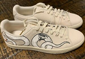 6425d3f5a4d Puma Clyde Snake Embroidery Shoes 36811101 Size 11 NO BOX | eBay