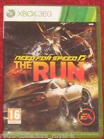 Microsoft XBOX 360 Game NEED FOR SPEED THE RUN English UK PAL