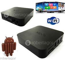 ANDROID BOX IPTV SMART TV PLASMA LED FULL HD USB H.264 QUAD CORE MXQ GPU MALI450