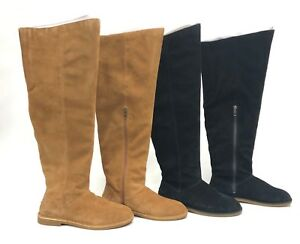 a298a327dff Details about Ugg Australia Loma Over the Knee Boot Black or Chestnut  1095394 Suede Tall Boots