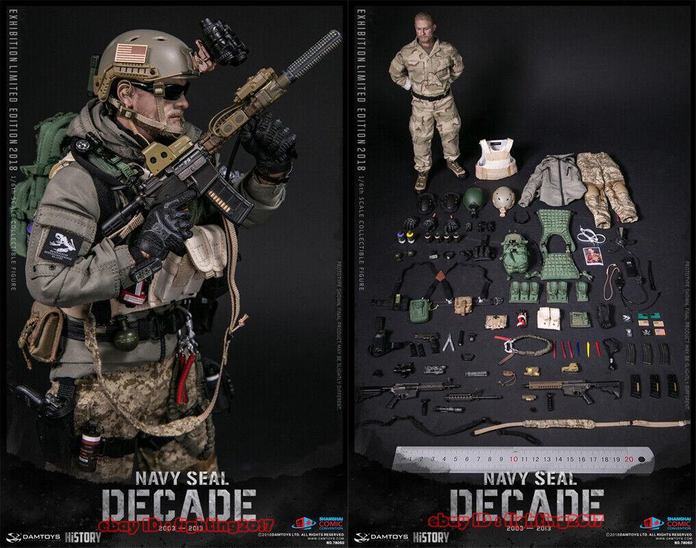 DAMTOYS 1 6 2018 SHCC década Navy Seal 2003-2013 DAM78060 figura de acción limitada