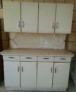 Cucina vintage anni 60 legno bianco e piano marmo modernariato | eBay