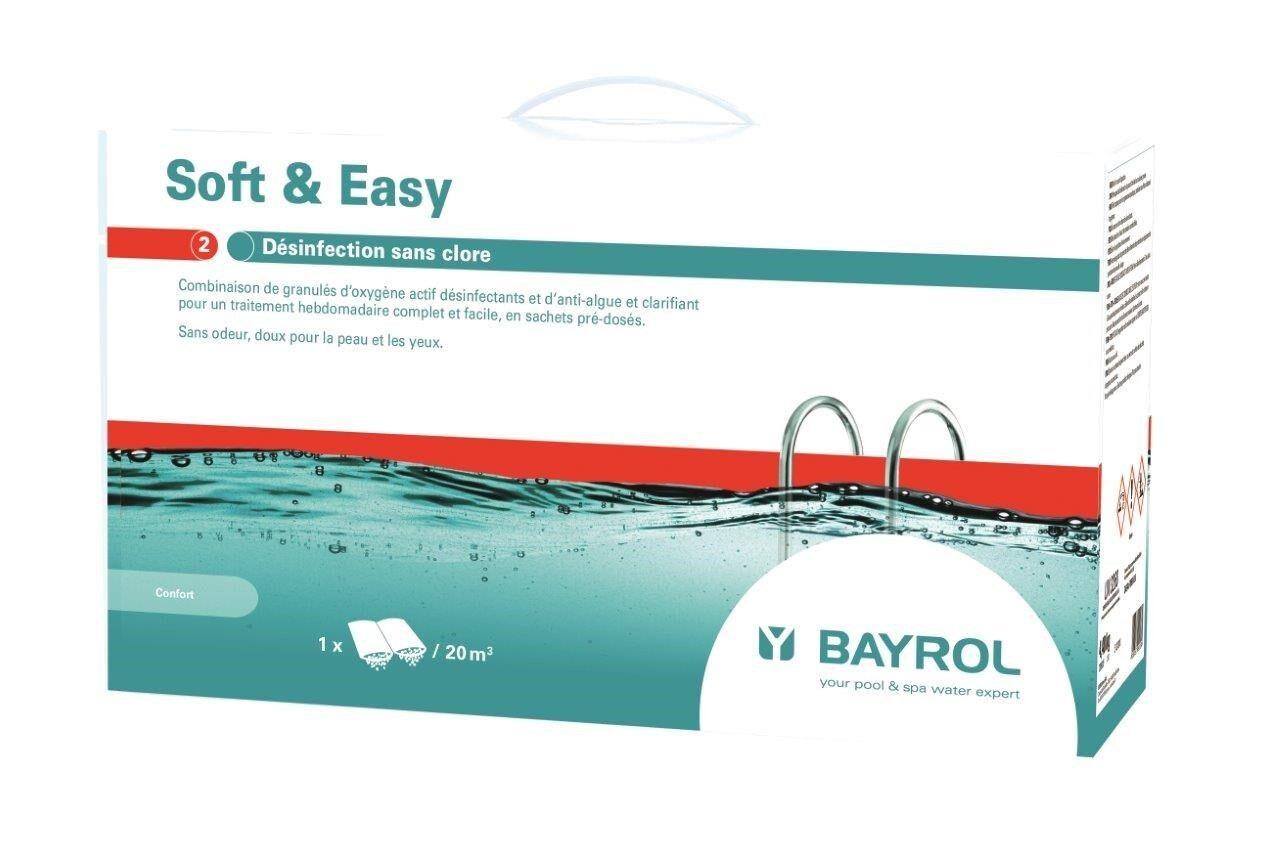 BAYROL DuoTab Nachfolger Soft & Easy 20 m³ - 4,48 kg Aktivsauerstoff-Poolpflege