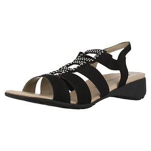 femmes-REMONTE-r5252-cuir-noir-compense-sandales