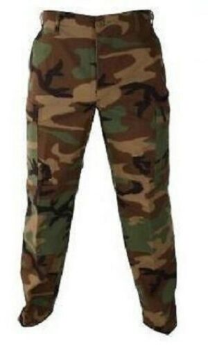 Propper US Military Army Woodland Camouflage Bdu Hose 100/% Cotton Ripstop