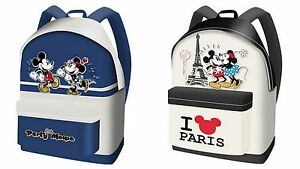 Borsa-Disney-Zaino-Zainetto-Minnie-Topolino-Girl-shoulder-Bag-backpack-Paris-New