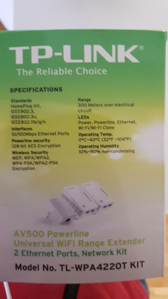Repeater, wireless, TP-Link