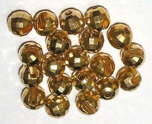 Tungsten-Facetten-Perlen-Wolfram-Perlen-20-Stk