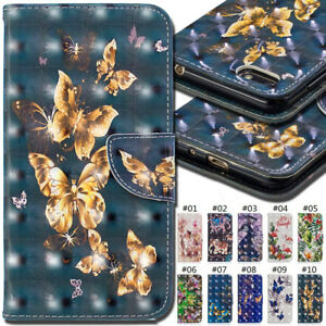For-Huawei-Honor-7S-Y5-2018-PU-Leather-3D-Wallet-Stand-Card-Painted-Case-Cover