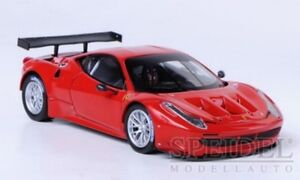 Ferrari 458 Italia GT2 Launch Version rot 2011 - 1:43 Elite