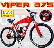 "POWER DIY 2-STROKE 66CC/80CC MOTORIZED BICYCLE KIT WITH 26"" SUPER GAS TANK BIKE"