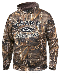 Drake Waterfowl Hoodie Collegiate Embroidered Hooded Sweatshirt Max 5 Camo  DW224  first time reply