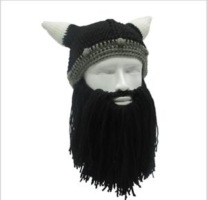 4a00a4ff2 Details about The Legendary Viking Beard Beanie