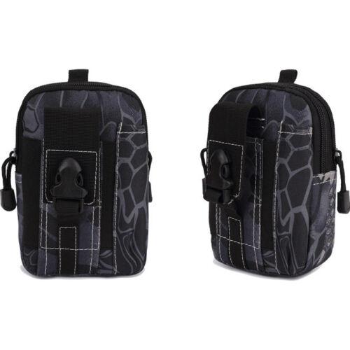 Military Tactical Waterproof Waist Pack Purse Phone Mini Outdoor Sport Men Bags