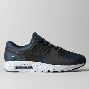 Details about Nike Air Max Zero Premium Size 10 shoes Armoury Navy Black kicks dunks