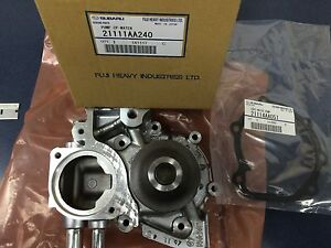 Genuine Subaru Water Pump Kit Forester XT Impreza WRX EJ255 2008-2014 Turbo