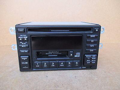 Subaru SUBARU IMPREZA WRX Kenwood Radio Stereo CD Tape Player Genuine GX-608EF2
