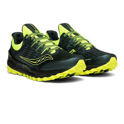 Saucony Uomo Xodus ISO 3 Trail Scarpe Da Corsa Ginnastica Sport Sneakers Nero   eBay