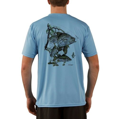 Performance T-shirt KEVIN BRANT Crappie Men/'s UPF 50