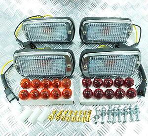 CLEAR-FRONT-REAR-SIDE-MARKER-LIGHT-LAMPS-DATSUN-FAIRLADY-280Z-240Z-260Z-510-120Y