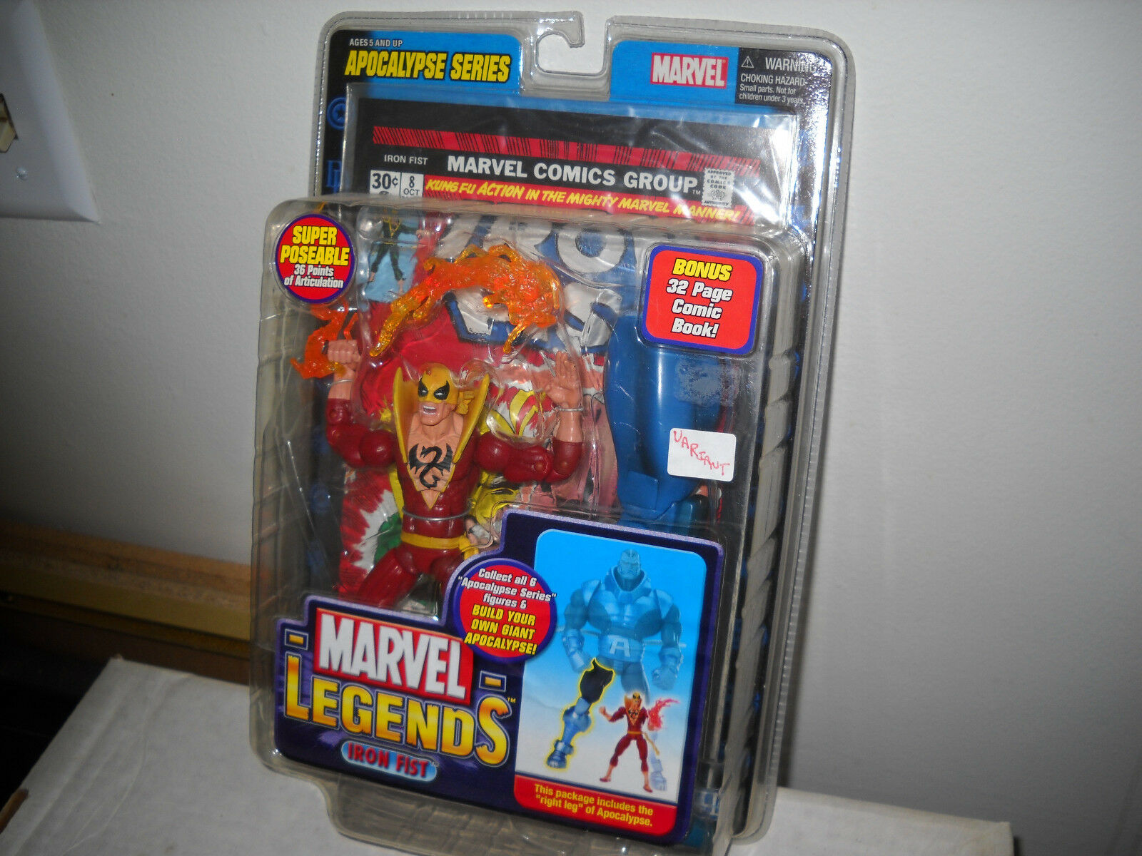 Marvel - legenden eisen - faust (rote variante) vf   nm