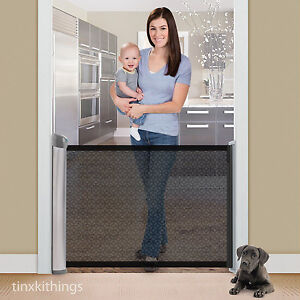 Superieur Image Is Loading Retractable Safety Baby Pet Gate Indoor Dog Barrier