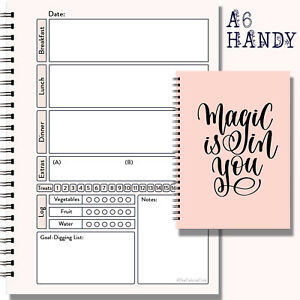 Food Diary Diet Journal Slimming World Compatible Weight ...