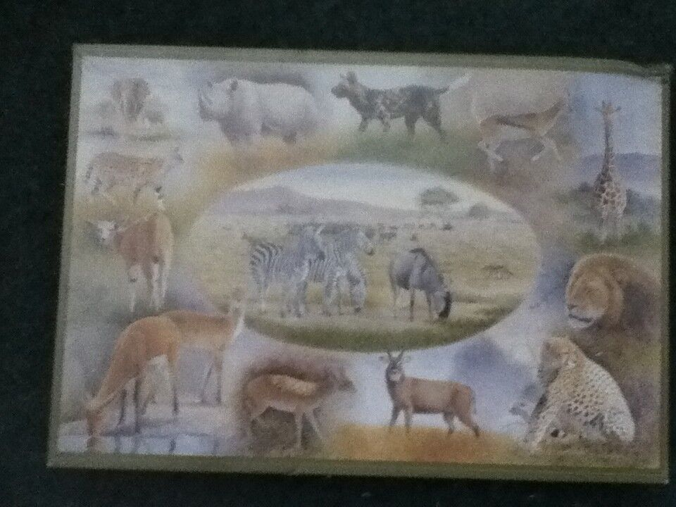 RARE - Wildlife in Africa1500 Piece Jigsaw [New  sealed] Pleass See 2nd picture