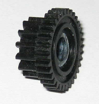 16.9mm // 32T 5mm ID 12.8mm // 14T 8.5mm Thic Dual Spur Thermoplastic Gear
