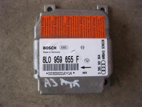 Airbag Apparecchio Di Controllo CENTRALINA AIRBAG AUDI a3 s3 8l 8l0959655f