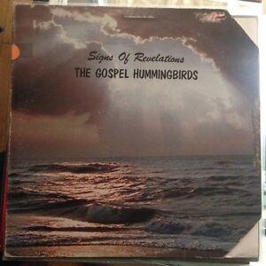 The Gospel Hummingbirds - Signs Of Revelatons LP Vinyl PRIVATE FUNK SOUL LISTEN