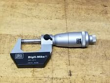 Brown Amp Sharpe 599 10 1 Digit Mike Micrometer 0 1