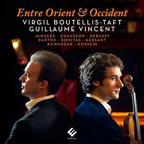VIRGIL BOUTELLIS-TAFT-ENTRE ORIENT & OCCIDENT  CD NUOVO