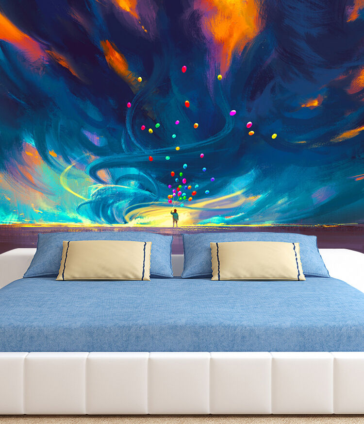 3D Magical Universe Sky 562 Wall Paper Wall Print Decal Wall Deco Indoor Wall