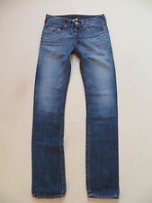 True Religion ROCCO Jeans Hose, W 30 /L 34, !! SLIM FIT !! Faded, Made in USA !!