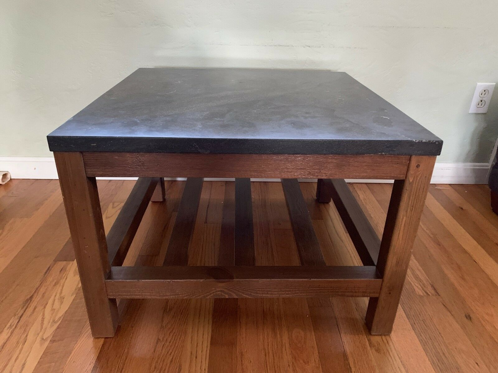 Benzara Ritzy Marble Top Square Coffee Table For Sale Online Ebay