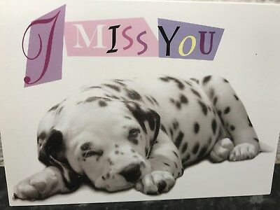 Dalmation Dog Valentine/'s Day Personalised Greeting Card cHM140 Wife Husband