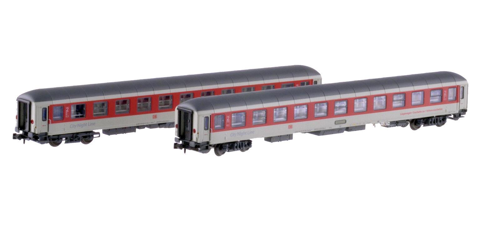 LS Models 79017 DBAG CNL CNL CNL Set 2x 2.Klasse Liegewagen hellgrau rot Ep5b-6 NeuOVP  | Innovation  a75a0d