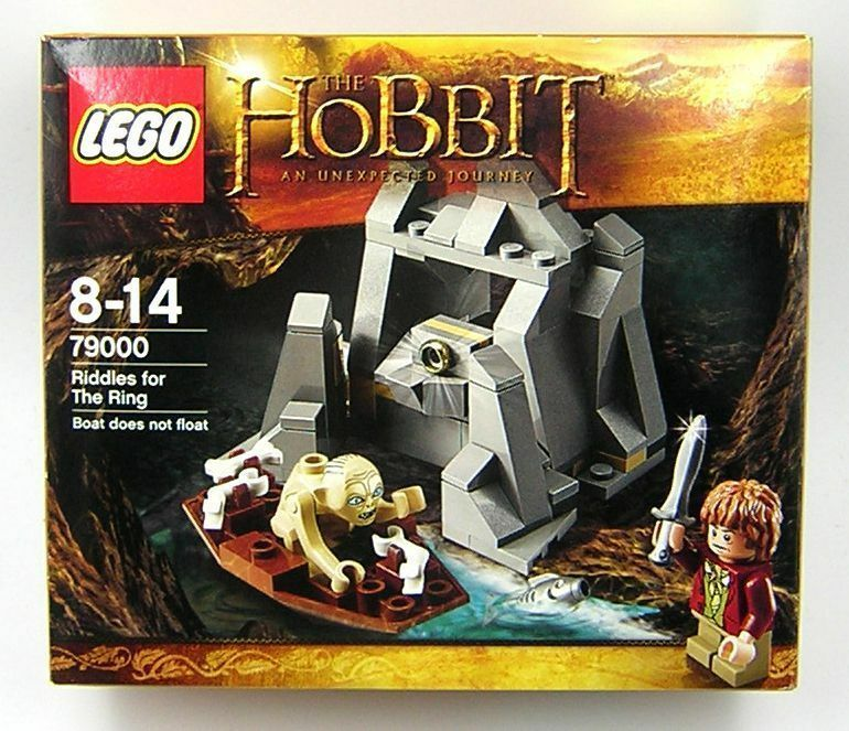 The Hobbit Lord of the Rings LOTR Lego 79000 Riddles for the Ring MIB