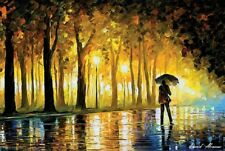 "Dance Under The Rain By Leonid Afremov 24/"" X 36/"" POSTER"