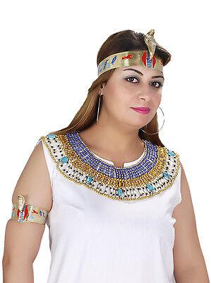Tut Anch Amun Karneval Fasching Armschmuck Oberarm-Spange im pharaonischen Stil