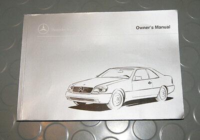2003 Mercedes Benz CL500 CL600 CL55 CL Owners Manual