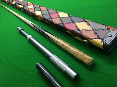 collection welcome NEW 1 ONE PIECE DELUXE DESIGN SNOOKER CUE CASE HOLDS 2 CUES