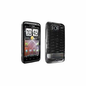 Verizon-Htc-Thunderbolt-6400-High-Gloss-Silicone-Case-Black