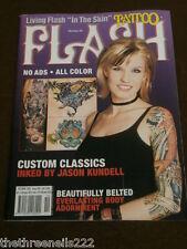 Tattoo Flash # 59-bellamente con cinturón-Oct 2003