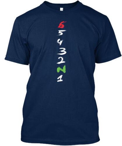 65432n1 Standard Standard Unisex T-shirt Cool Motorcycle Gear Shift Racing