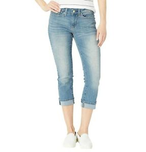 Levi-039-s-Jeans-Signature-Gold-by-Levi-Strauss-NEW-Blue-Oasis-Womens-Mid-Rise-Capri
